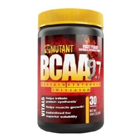 Mutant BCAA Powder,  0.76 lb  Fuzzy Peach