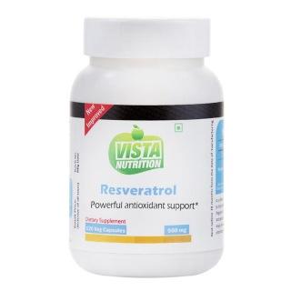 Vista Nutrition Resveratrol,  120 capsules