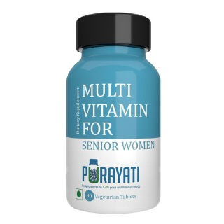 Purayati Multivitamin for Senior Women,  90 tablet(s)  Unflavoured