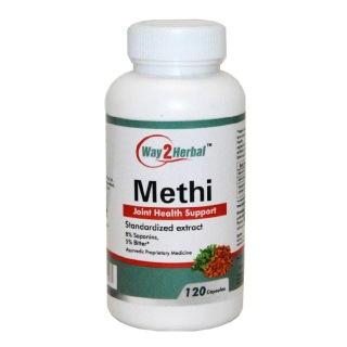 Way2Herbal Methi,  120 capsules