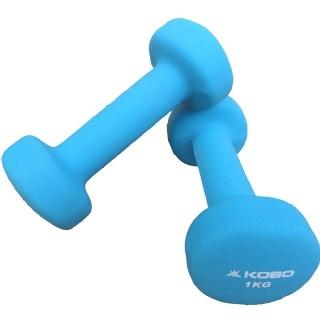 KOBO Dumbbell (Nd-1),  Blue  1 kg