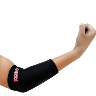 KOBO Neoprene Elbow Support (3630),  Black  Large