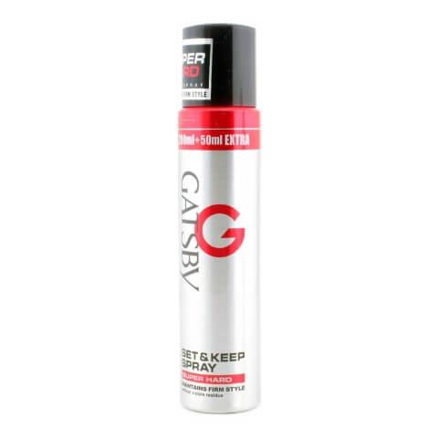 Gatsby Set & Keep Hair Spray,  Super Hard