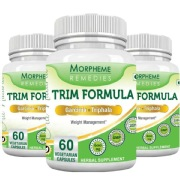 Morpheme Remedies Trim Formula (600 mg) Pack of 3,  60 capsules  Unflavoured