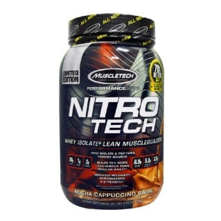 MuscleTech NitroTech Performance Series,  2 lb  Mocha Cappucino
