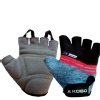 KOBO Gym Gloves (WTG-19),  Grey & Black  Large