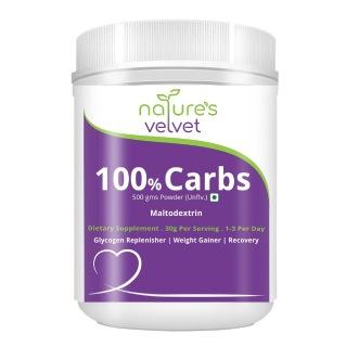 Natures Velvet 100 % Carbs,  1.1 lb  Unflavoured