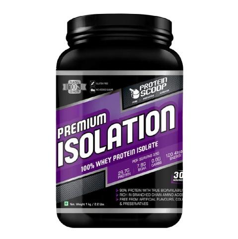 Protein Scoop Isolation,  2 lb  Chocolate