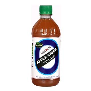 Vigour Apple Cider Vinegar,  0.500 L  Unflavoured