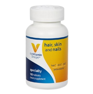 The Vitamin Shoppe Skin-Hair-Nails,  120 tablet(s)  Unflavoured