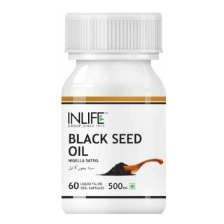 INLIFE Black Seed Oil,  60 capsules