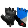KOBO Gym Gloves (WTG-16),  Blue, Grey & Black  XL