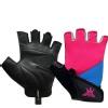 KOBO Ladies Gym Gloves (WTG-17),  Pink, Blue & Black  Large