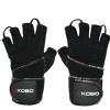 KOBO Gym Gloves (WTG-14),  Black  Medium