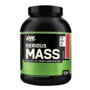 ON (Optimum Nutrition) Serious Mass,  6 lb  Strawberry