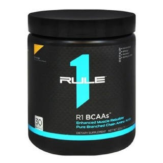 Rule One R1 BCAA,  0.49 lb  Orange