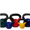 B Fit USA Vinyl Kettlebell,  Purple  6 kg