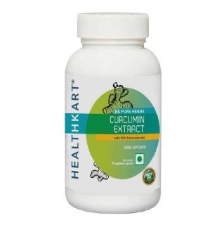 HealthKart Curcumin Extract,  90 capsules