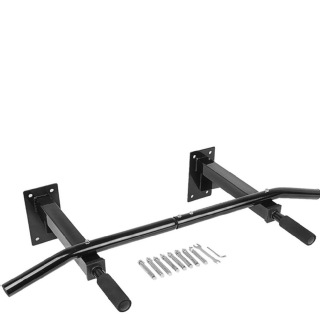 KOBO Wall Mounted Pull Up Bar (DPU-4),  Free Size  Black