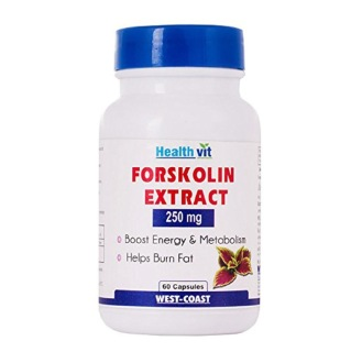 Healthvit Forskolin Extract (250 mg),  60 capsules  Unflavoured