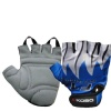 KOBO Weight Lifting Gloves (CG-01),  Blue & White  Medium