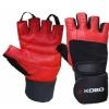 KOBO Gym Gloves (WTG-02),  Red & Black  Medium