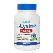 Healthvit L-Lysine (1000 mg),  60 tablet(s)  Unflavoured