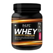 INLIFE Whey Protein,  1 lb  Strawberry