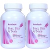 NutriLeon Hair, Skin & Nails Pack of 2,  60 capsules  Unflavoured