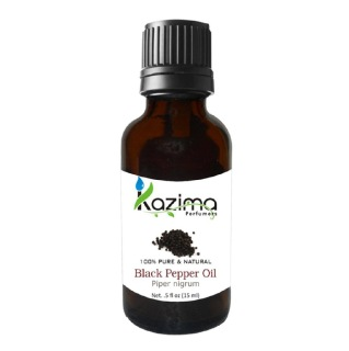 Kazima Black Pepper Oil,  15 ml  100% Pure & Natural