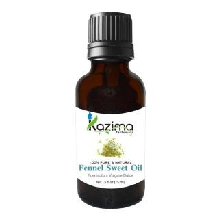 Kazima Fennel Sweet Oil,  15 ml  100% Pure & Natural