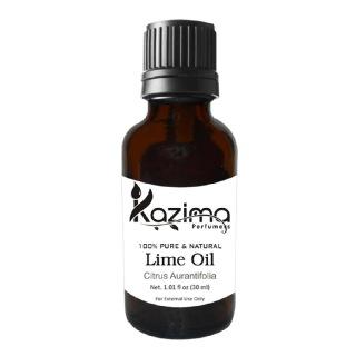 Kazima Lime Oil,  30 ml  100% Pure & Natural