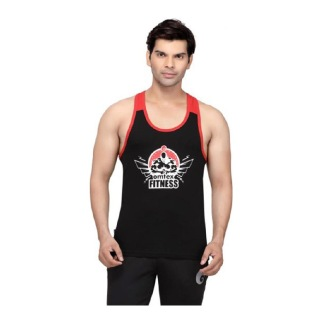 Omtex Gym Stringers,  Black Red  Small