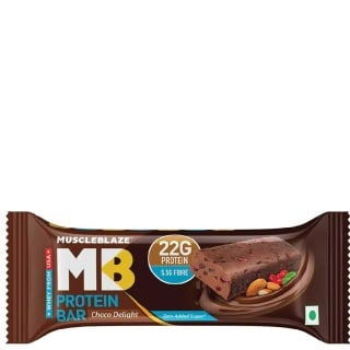 MuscleBlaze Protein Bar (22g Protein),  1 Piece(s)/Pack  Choco Delight
