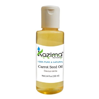 Kazima Carrot Seed Oil,  100 ml  100% Pure & Natural