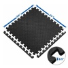 KOBO Puzzle Exercise Mat (AC-62),  Black  24x24x12 mm