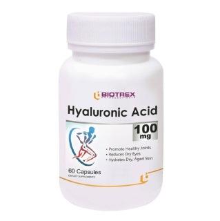 Biotrex Hyaluronic Acid (100 mg),  60 capsules