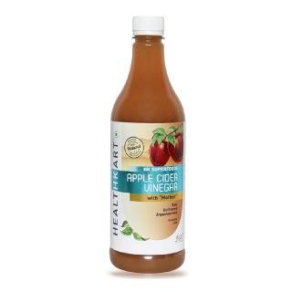 HealthKart Apple Cider Vinegar with Mother,  1 L  Unflavoured