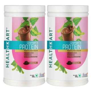 HealthKart Women's Protein 0.88 lb Chocolate - Pack of 2