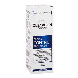 West Coast Clearclin Acne Control Facewash,  60 ml  for All Skin Type