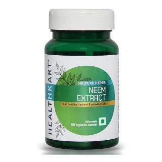 HealthKart Neem Extract,  60 capsules