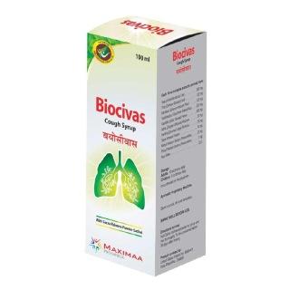 Maximaa Proyurveda Biocivas Cough Syrup,  100 ml