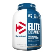 Dymatize Elite 100% Whey Protein,  5 lb  Cookies & Cream