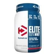 Dymatize Elite 100% Whey Protein,  2 lb  Strawberry Blast