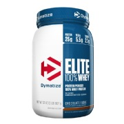 Dymatize Elite 100% Whey Protein,  2 lb  Chocolate Fudge