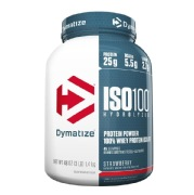 Dymatize Iso-100 Protein,  3 lb  Strawberry