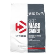 Dymatize Super Mass Gainer,  12 lb  Strawberry