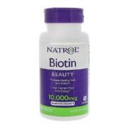 Natrol Biotin (10,000 mcg),  Unflavoured  100 tablet(s)