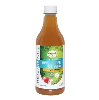 HealthKart Organic Apple Cider Vinegar,  0.5 L  Unflavoured New