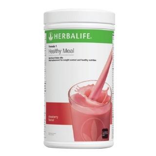 Herbalife Formula 1 Nutritional Shake Mix,  0.5 kg  Strawberry